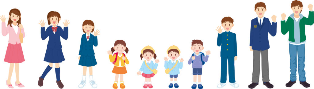 子どもの成長に合わせた矯正治療